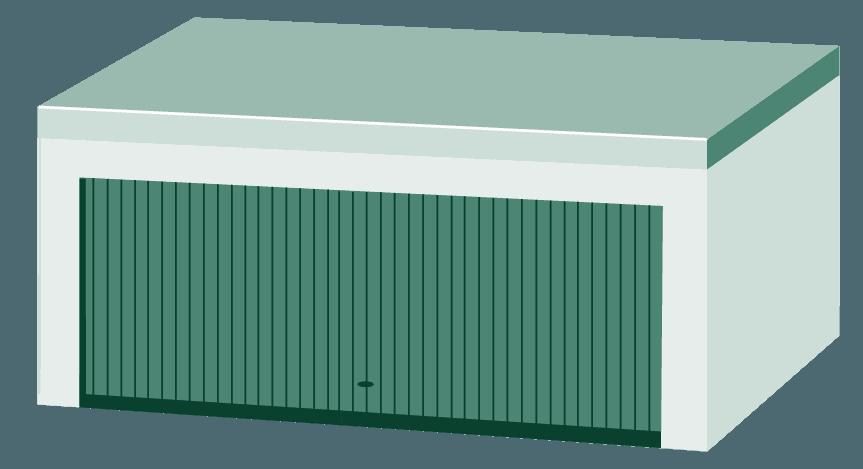 Großraumgarage
